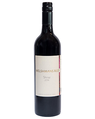 Welshmans Reef Vineyard Shiraz 2014 case of 12 Dry Red Wine 750mL