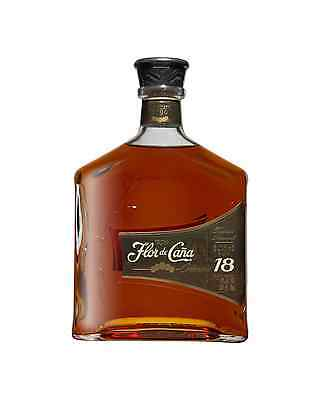 Flor de Cana 18 year Old Rum 700mL case of 6 Dark Rum