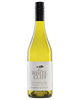 Whitecliff Sauvignon Blanc 2016 case of 12 Dry White Wine 750mL Marlborough, NZ