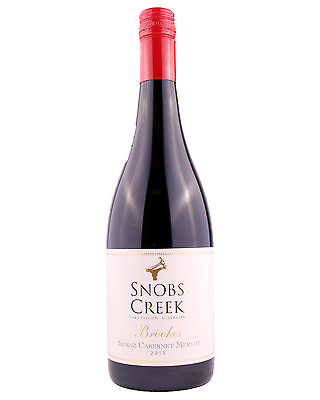 Snobs Creek Estate Brookes Shiraz Cabernet Merlot 2015 case of 12 Dry Red Wine
