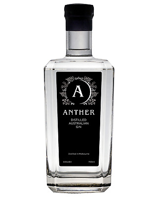 Anther Distilled Australian Gin 700mL bottle London dry Gin Melbourne