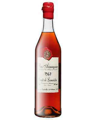 Comte de Lamaestre 1967 Bas Armagnac 700mL case of 6 Brandy