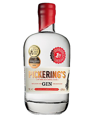 Pickerings Dry Gin 700mL bottle Edinburgh