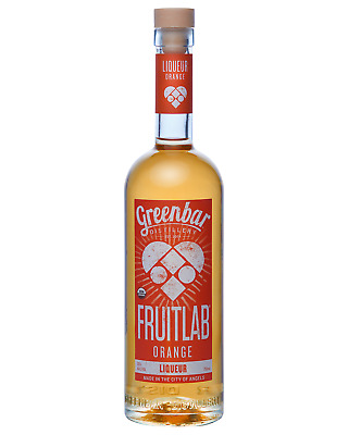 FruitLab Organic Orange Liqueur 750mL bottle Fruit Liqueurs