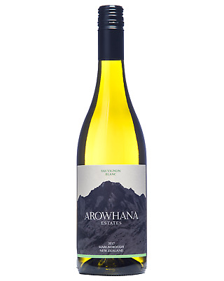 Arowhana Marlborough Sauvignon Blanc 2017 case of 12 Dry White Wine 750mL