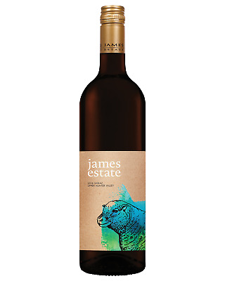 James Estate Shiraz case of 6 Dry Red Wine 750mL Hunter Valley