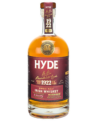 Hyde Irish Single Malt Whiskey 6 Year Old - Dark Rum Finish case of 6 700mL