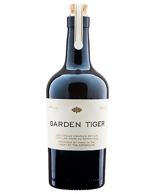 Garden Tiger Dry Gn 500mL case of 6 Gin Dry Gin