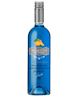 Maison Blue Curacao 750mL bottle Liqueur Fruit Liqueurs