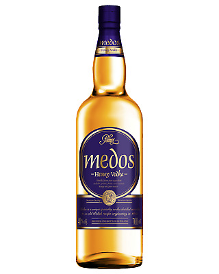 Medos Honey Vodka 700mL case of 2