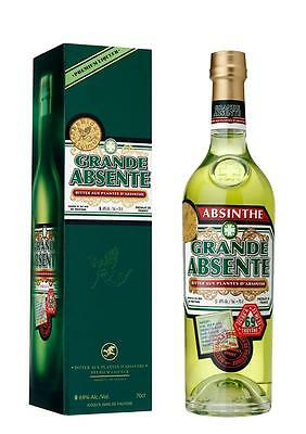 Distilleries et Domaines de Provence La Grand Absinthe Box & Spoon 700mL bottle