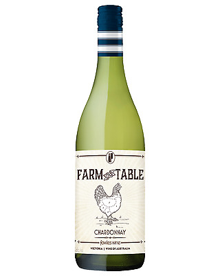 Fowles Wine Farm to Table Chardonnay case of 6 Dry White 750mL