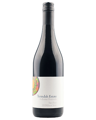 Terindah Estate Two Bays Pinot Noir 2015 case of 12 Dry Red Wine 750mL