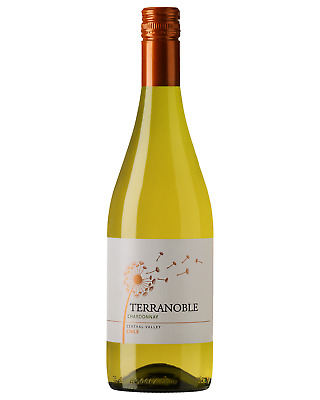 Terra Noble Chardonnay 2016 case of 6 Dry White Wine 750mL Central Valley