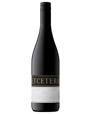 Etcetera Shiraz case of 6 Dry Red Wine 750mL