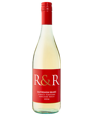 R&R Single Vineyard Sauvignon Blanc 2016 case of 6 Dry White Wine 750mL