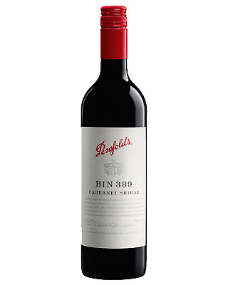 Penfolds Bin 389 Cabernet Shiraz 2014 case of 6 Dry Red Wine 750mL