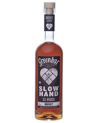 Slow Hand Six Woods Organic Mash 750mL bottle American Whiskey