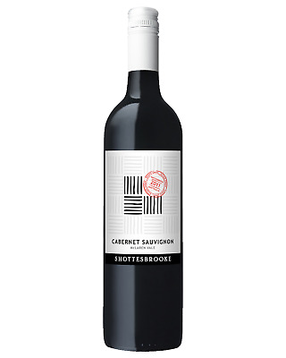 Shottesbrooke Cabernet Sauvignon case of 6 Dry Red Wine 750mL McLaren Vale