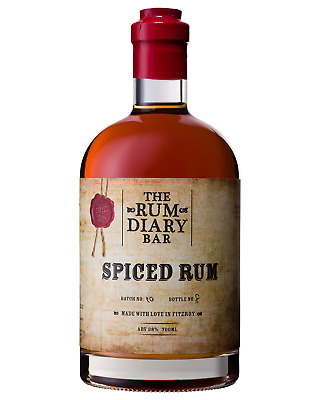 Rum Diary Spiced Rum 700mL case of 6