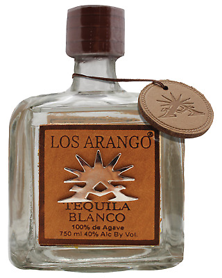 Los Arango Blanco Tequila 750mL bottle