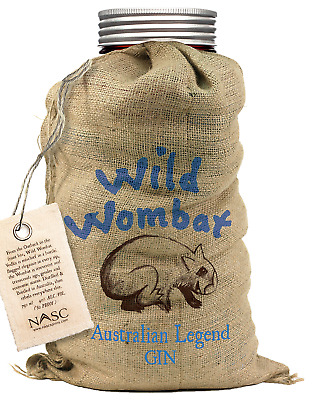 Wild Wombat Pure Gin 700mL bottle