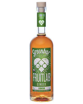 Greenbar Distillery FruitLab Organic Ginger Liqueur 750mL bottle Fruit Liqueurs