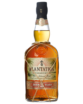 Plantation 5 Year Barbados Rum case of 6 Gold Rum Dark Rum 700mL