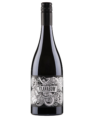 Flavabom Vine Dried Shiraz 2016 case of 6 Dry Red Wine 750mL