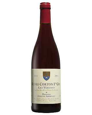 Domaine Follin Arbelet Aloxe Corton Les Vercots 1er Cru 2011 case of 12 Dry Red
