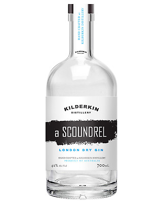 Kilderkin Distillery A Scoundrel London Dry Gin 700mL bottle