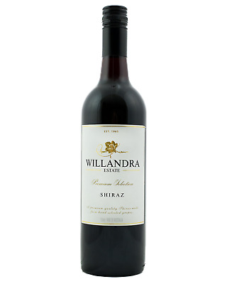 Willandra Premium Shiraz case of 6 Dry Red Wine 750mL Langhorne Creek
