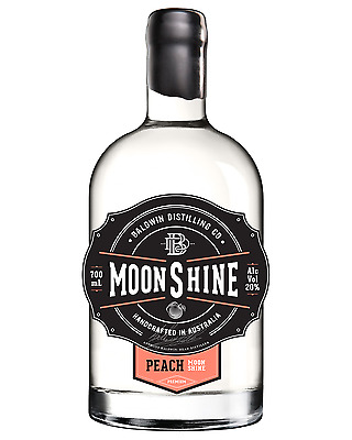 Baldwin Distilling Co. Peach Moonshine 700mL bottle