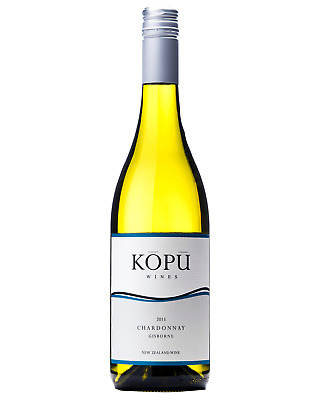Kopu Gisborne Chardonnay 2015 case of 12 Dry White Wine 750mL