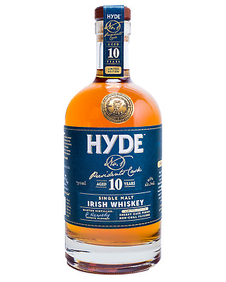 Hyde Irish Single Malt Whiskey 10 Year Old - Oloroso Sherry Finish bottle 700mL