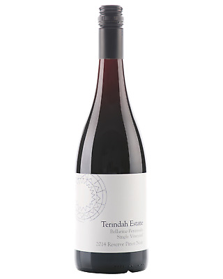 Terindah Estate Single Vineyard Reserve Pinot Noir 2014 bottle Dry Red Wine