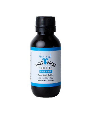 First Press Coffee Double Shots 100mL 24 Pack case of 1