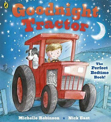 Goodnight Tractor by Robinson, Michelle Book The Fast Free Shipping