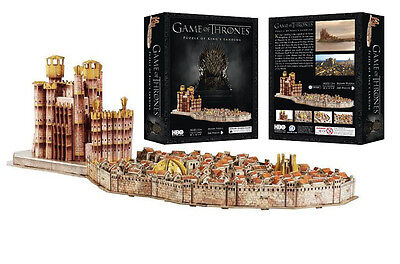 Game Of Thrones 4D Puzzle Kings Landing Cityscape Jigsaw Puzzle Series 7 Xmas
