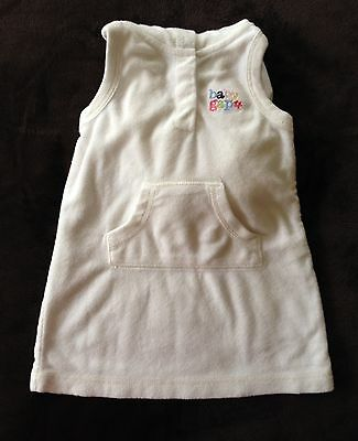 BABYGAP SWIMSUIT COVERUP DRESS with HOOD Baby Gap GIRLS SIZE 3 - 6 MONTHS EUC