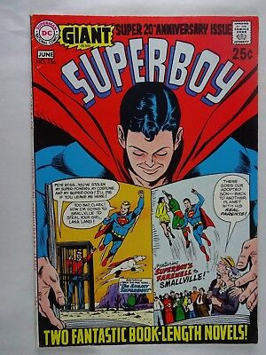Superboy #156   High Grade VF   Giant 20th Anniversary Issue   Silver