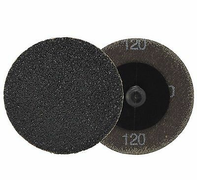 NEIKO ROLOC TYPE 2-Inch Silicon Carbide Sanding Disc, 120