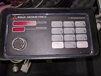 Geometrics G-856AX Proton Magnetometer with 50' power/data cable