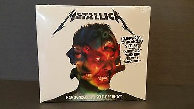Metallica Hardwired...To Self-Destruct (2 CD Set, NEW, Factory Sealed)