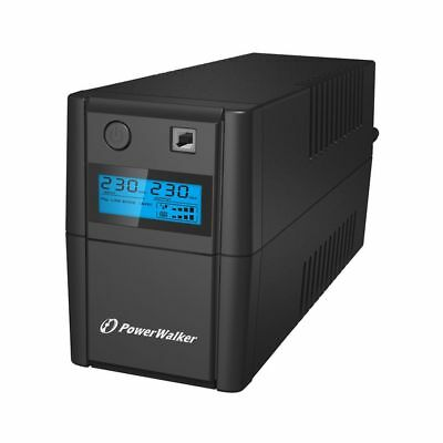 Bluewalker VI 850SE LCD Line-Interactive 850VA 2AC outlet(s) Tower Blac 10120096