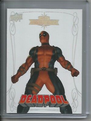 2016 Upper Deck Marvel Gems Exquisite Base Card #47 Deadpool - Serial #ed 30/30