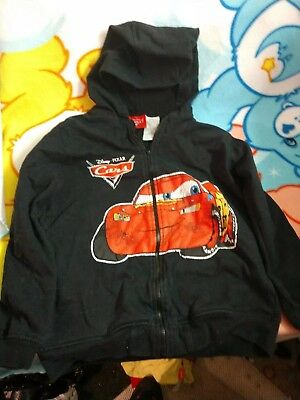 Used childs size 8/10 Cars the movie zip hoodie
