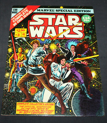 MARVEL SPECIAL EDITION FEATURING STAR WARS #3 (Marvel 1978) VF condition!