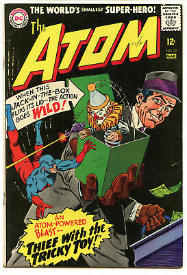 JERRY WEIST ESTATE: THE ATOM #23 (DC 1966) FN condition!
