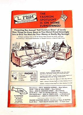 Vintage 60s L Fish Furniture Department Store Sales Catalog Ex Chicago Sears Ofr